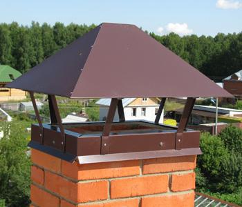 Зонт на дымоход